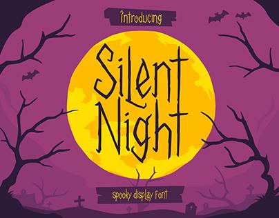 Silent Night - Display Font