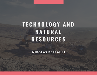 Nikolas Perrault - Technology And Natural Resources
