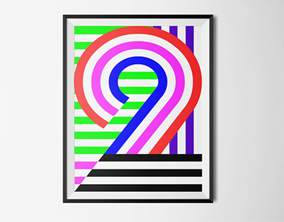 2 years turboturboturbo - Poster design