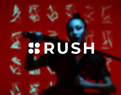 RUSH project | Product concept and Brand Identity