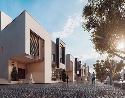 4 Villas Prototype, Compound | Saudi Arabia