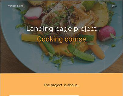 Cooking course UA/UX Concept
