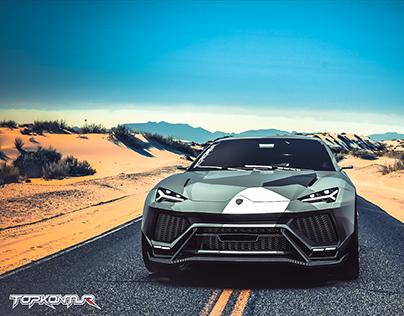 Lamborghini URUS wide-body TOPKONTUR-Design.