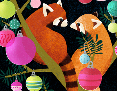 Wildlife Holiday Cards