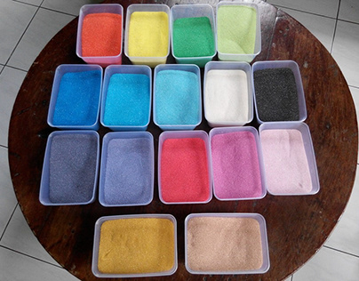 Cara Membuat Pasir Warna Buatan Sendiri Buat Si Kecil