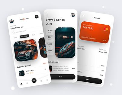 Rent Car mobile App