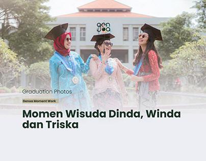 WIsuda Dinda, Winda dan Triska