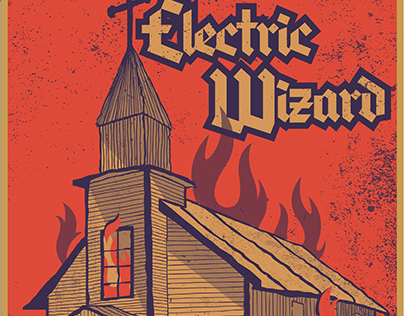 Electric Wizard Poster