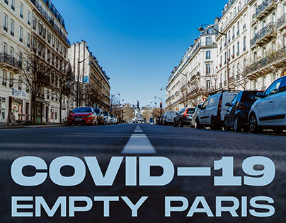 COVID-19//Empty PARIS