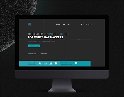 Hacken Cryptocurrency: Landing and More