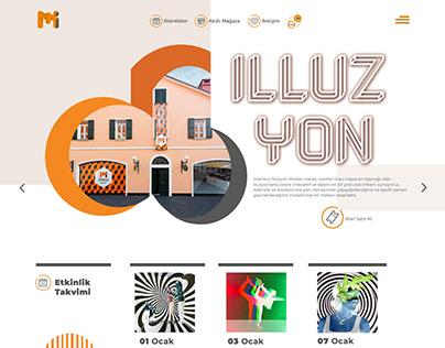 İstanbul Museum of Illısions Web Design