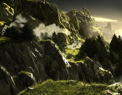 Digital Landscapes: The Green Valley