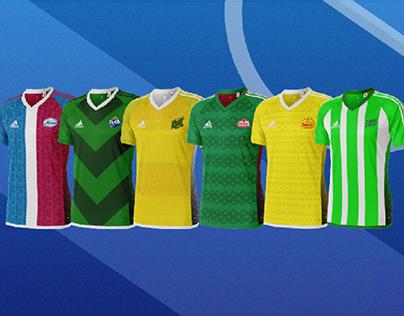 Camisas de Times de Guaraná