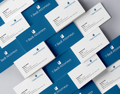 Y Badli Attorneys Corporate Identity Design