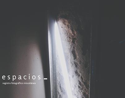 espacios | personal project