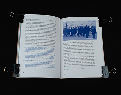 Zrób sobie protest — publication design