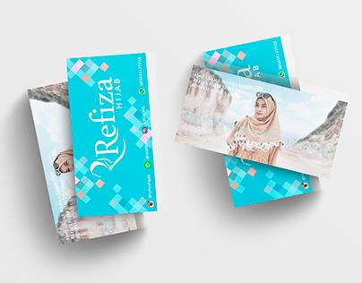 Kartu Nama Refiza Hijab