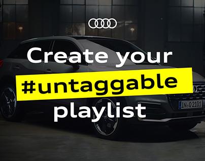 Audi Q2 #untaggable campaign