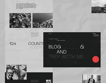 Anton Ptushkin — Concept Website