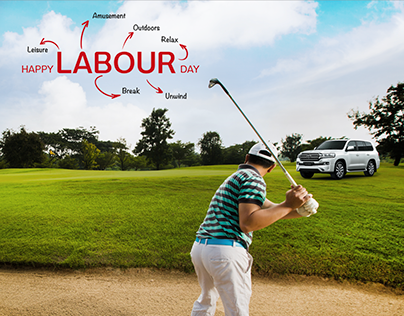 Toyota Labour day social media posts