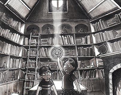 Book Illustration- Magic Mirror Book Series #6 #7