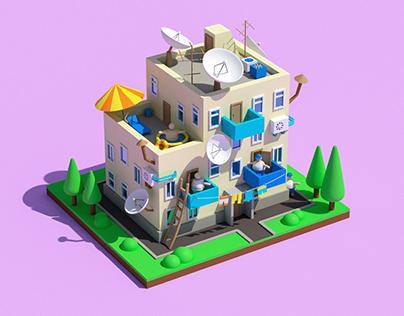 Buildings 3D