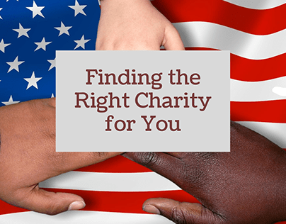 Finding the Right Charity for You | Alan Rasof