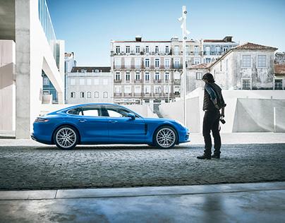 Porsche Panamera with Fernando Guerra