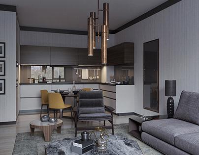 Güral Residence Livingroom