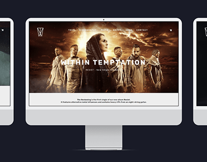 Within Temptation Concept Website
