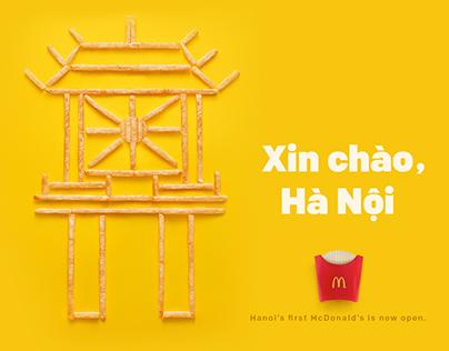McDonald's Hanoi Landmarks