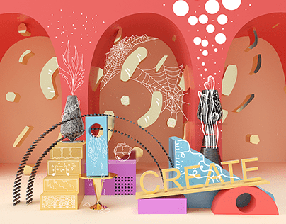 Creating Custom Shape in Adobe Dimension