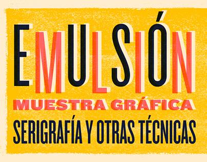 Emulsión / Exposición colectiva