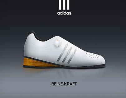 Adidas Reine Kraft - Olympic weightlifting shoe concept