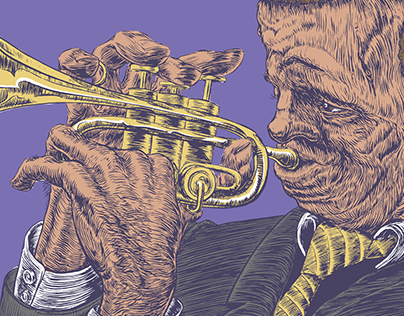 "Illustration Friday ""Jazz"""