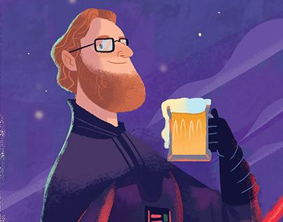 Geeks Beer's Poster