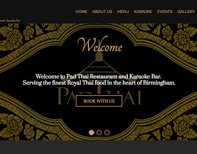 Freelance - Responsive Web Design for Restaurant