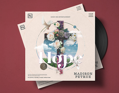 Hope Album Cover Template