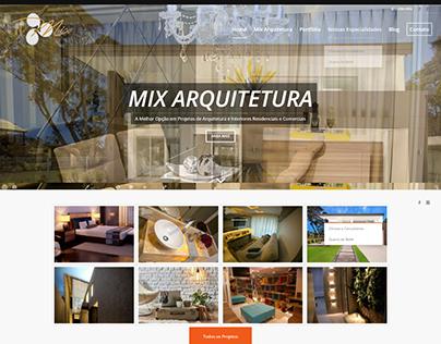 Criação de Site - Mix Arquitetura - Brasília