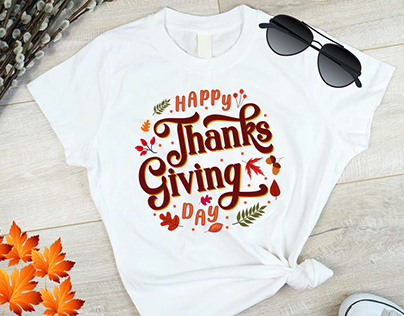 Thanks giving day t-shirt.