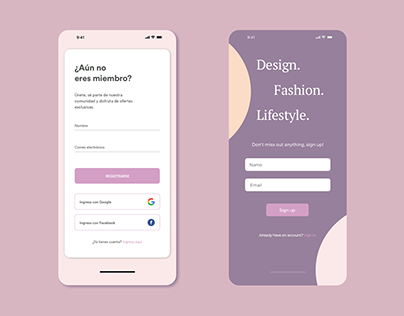 Daily UI 01 Sign Up