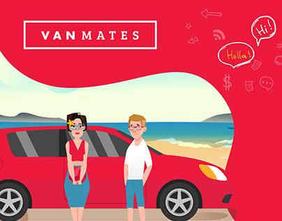 VanMates - Animated Explainer