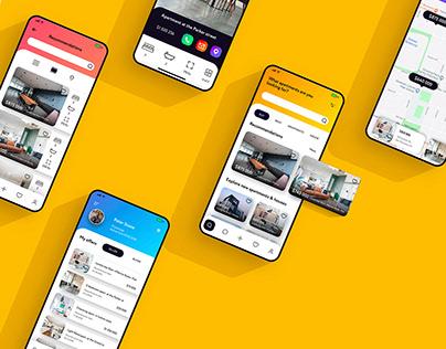 Real Estate App | UI Concept