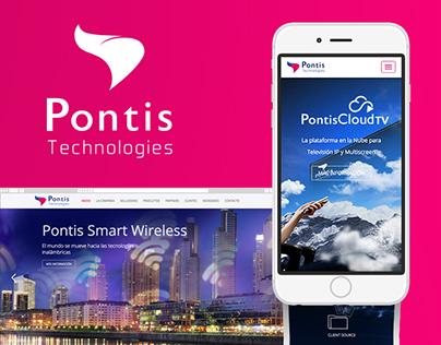 Pontis Technologies Website
