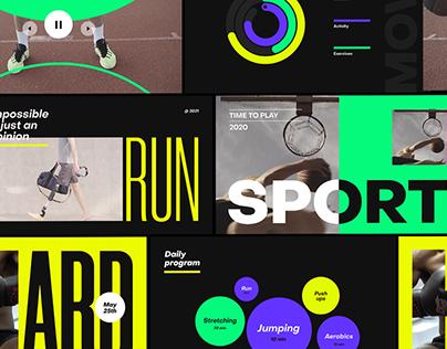 Run | Sport Promo