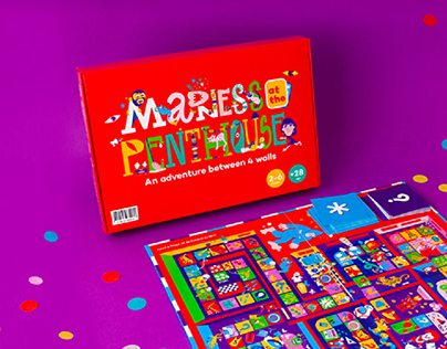 MADNESS at the PENTHOUSE - Board game