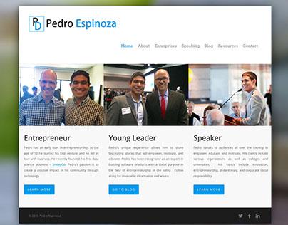 Pedro Espinoza Brand Redesign