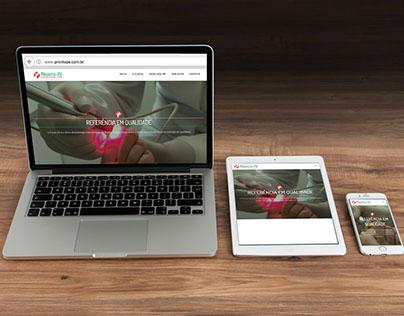 Pronto-Pé - Website em 2016