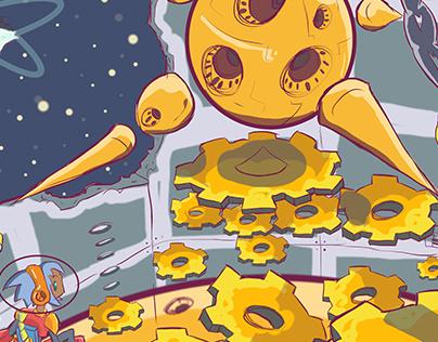 Space Ranger: Gear Machine
