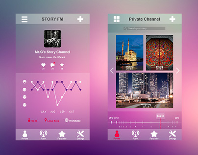 Story FM_UI Design